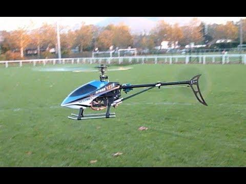 HELICO SPARK 435M en VOL HELICOPTER HELICOPTERE WALKERA MODEL AEROMODELISME RC RADIOCOMMANDE FLIGHT
