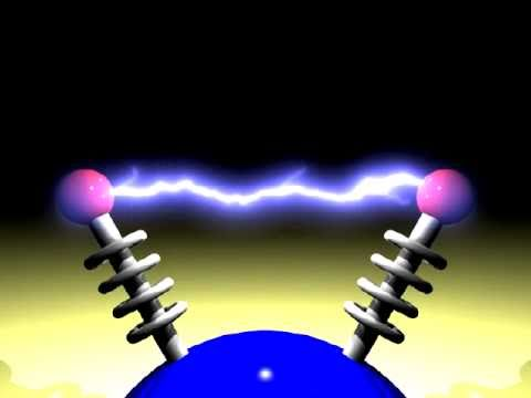 Physically Based Animation and Rendering of Lightning (2004) - Electrodes Example