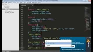8. Estructura Semantica de HTML5 parte 3 - Etiquetas ARTICLE, SECTION Y ASIDE tags