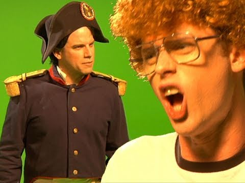 Napoleon vs. Napoleon - Behind the Scenes - EPIC RAP BATTLE # 9