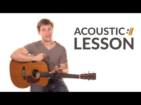 Guitar Lesson for Glorious Day (Living He Loved Me) by Casting Crowns