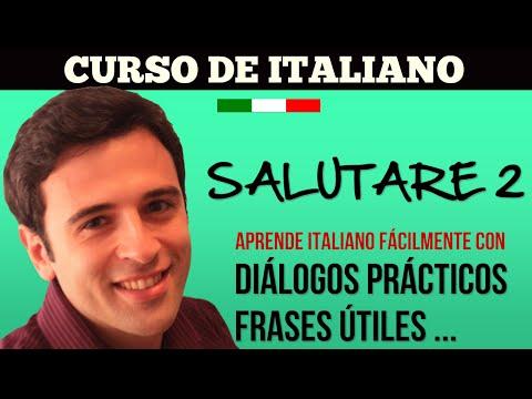 Curso de Italiano - Saludos y Despedidas 2 - Aprender Italiano