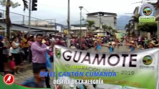 GUAMOTE PRESENTE EN LAS FESTIVIDADES DE CANTONIZACIÓN DE CUMANDÁ.