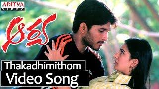 Thakadhimithom Video Song | Aarya