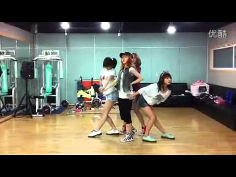 [missA Suzy-s Me2day] miss A [GOODBYE BABY] dance practice
