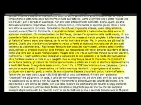 Mondo Italia (15/03/2012) - Youdem tv