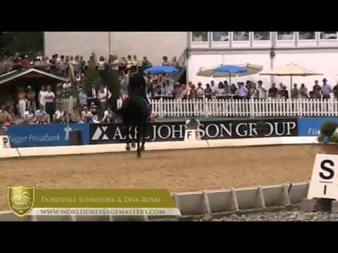 WDM Munich 2012 - #4 in Exquis Grand Prix Freestyle, Dorothee Schneider & Diva Royal