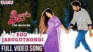 Edo Jaruguthondi Full Video Song | Fidaa