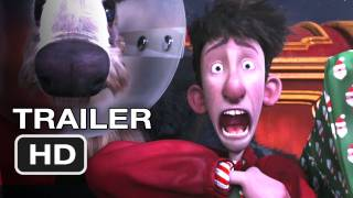Arthur Christmas Official Trailer - Santa Claus Movie (2011) HD
