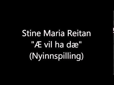 Stine Maria Reitan -