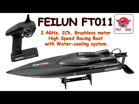 FEILUN FT011 2.4GHz, 2Ch, Brushless, High Speed Racing Boat with Water-Cooling system (RTR) - UC8Pp5wqa4mPIdtAYkGH2Pzw