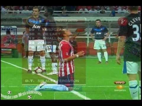 Chivas Guadalajara vs Manchester United 3-2 AMISTOSO Inauguracion Estadio Omnilife [30/07/10]