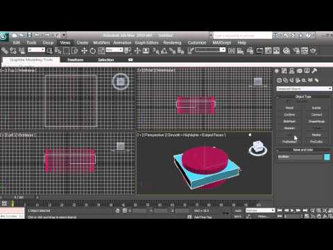 3D Modeling - Computer Fan Tutorial - Beginners - 3ds max - pt 4 of 16
