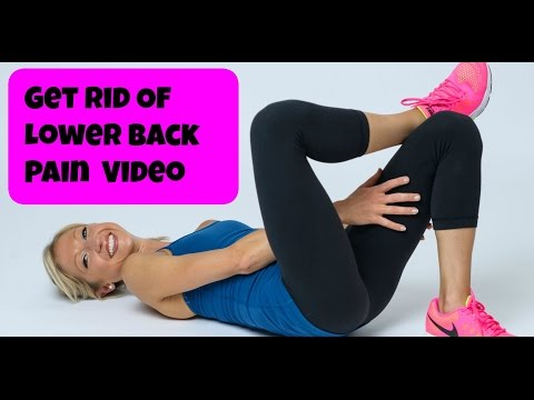 Lower Back Stretching Routine. Free Online Pain Relief Video.