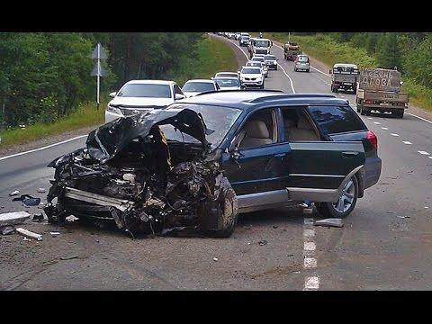 Автомобильные аварии видеоподборка