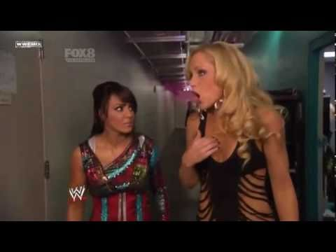 Smackdown 11/2/11 LayCool Backstage
