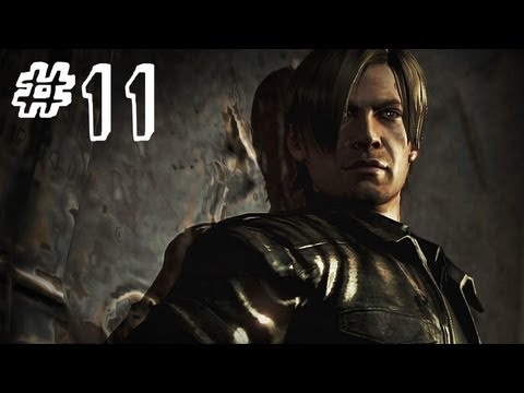 Resident Evil 6 Gameplay Walkthrough Part 11 - UNDERGROUND - Leon / Helena Campaign Chapter 2 (RE6)