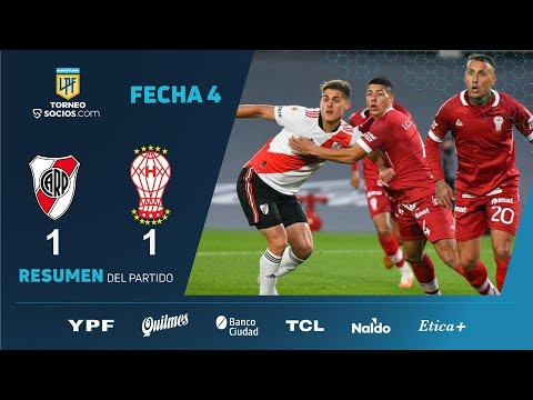 River 1-1 Huracán - Fecha 4 - Liga Profesional de Fútbol