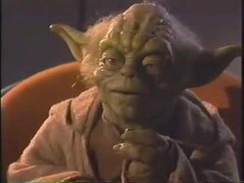 Yoda fears the darkside