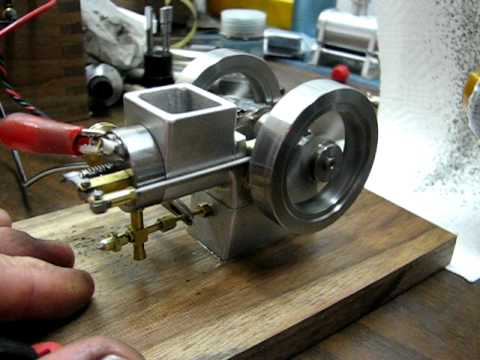 'Tiny' A small internal combustion engine.