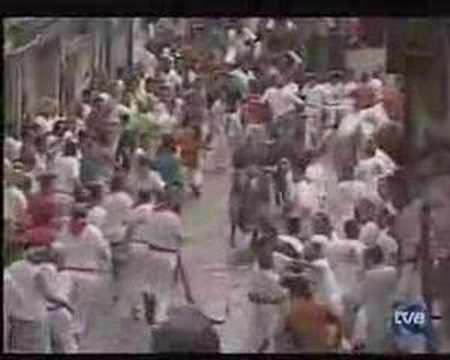 Encierro San Fermín - 7 de julio de 2007