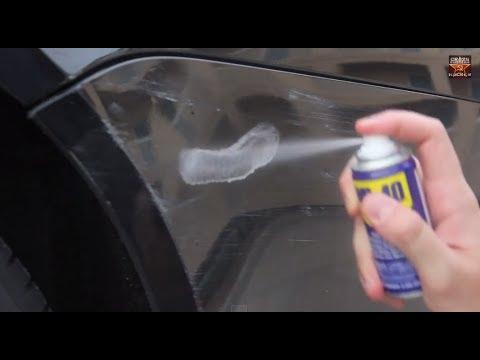 شاهد بالفيديو: طريقة سهلة وسريعة لإزالة الخدوش عن طلاء السيارة