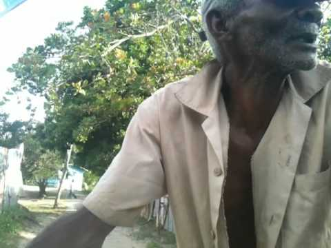 Jamaican Farmer speaking Patois