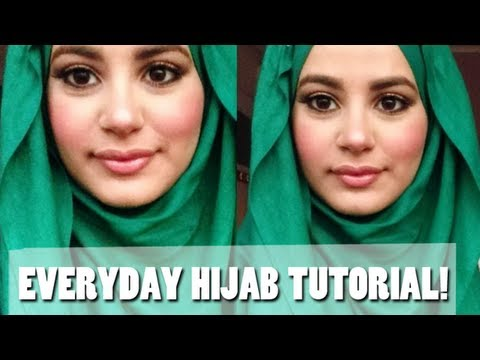 My Everyday Hijab Tutorial! -xLpCXH5olHM