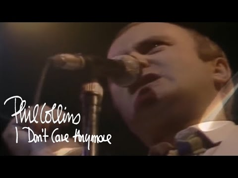 Phil Collins - I Dont Care Anymore (Official Music Video)
