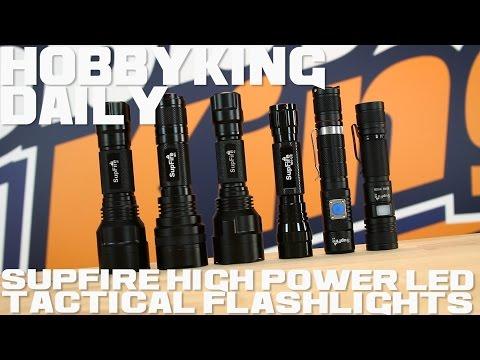 SupFire High Power LED Tactical Flashlights - HobbyKing Daily - UCkNMDHVq-_6aJEh2uRBbRmw