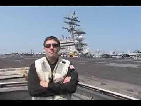 Navy Carrier Squadrons Move Along