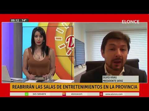 Protocolo para la reapertura de las salas de entretenimientos en Entre Ríos
