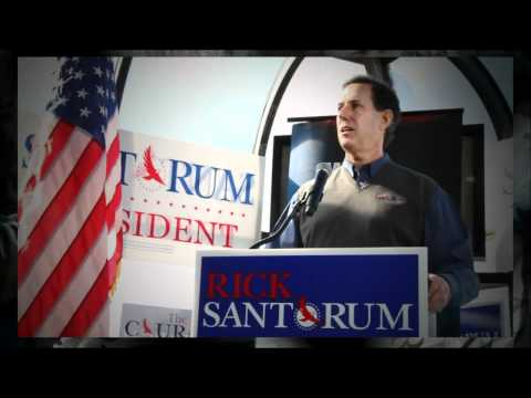 Rick Santorum Campaigns As True Conservative In South Carolina