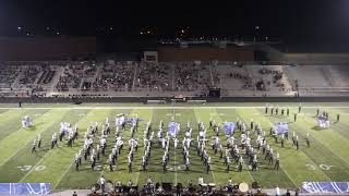 The FHS Marching Band's Homecoming Half-time Show