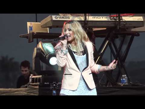"Demi Lovato - ""All Night Long"" (Live in Del Mar 6-12-12)"