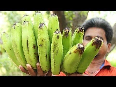 How to Cook Raw Banana Recipe || Raw Banana Recipe || Myna Street Food
