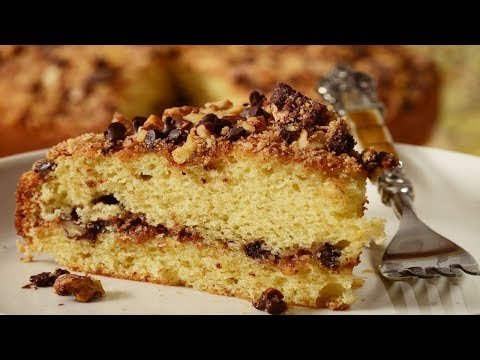 Coffee Cake Recipe Demonstration - Joyofbaking.com