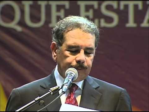 Lanzamiento oficial de la precandidatura de Danilo Medina