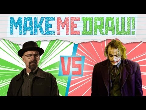 Breaking Bad vs The Joker! - Make Me Draw