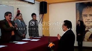 Carrera de Sociología - UMSA. Posesión del nuevo director de la 2017 - 2020