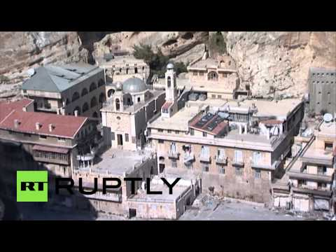 Syria, Army retakes ancient Christian town of Maaloula  4/14/14