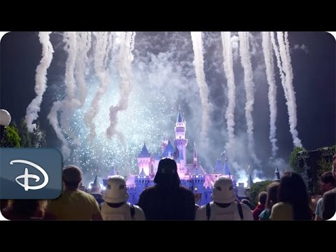 Fireworks: Darth Vader Goes To Disneyland Extended Scene