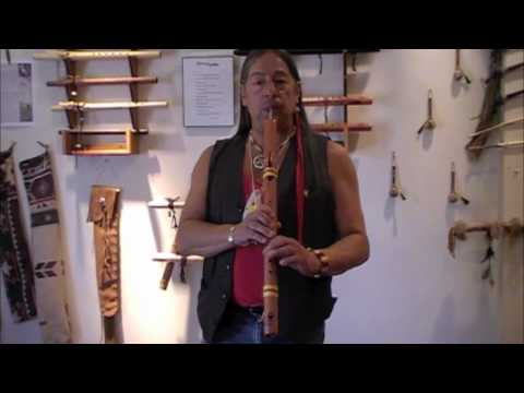 Learning the Native Flute - Lesson Two - Fluttering