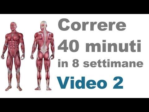 Allenamento Corsa: Esercizi per le Gambe e i Muscoli Principali (Video 2)