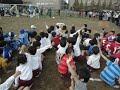 川崎市幼稚園サッカー秋季交流大会の様子