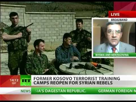 Kosovo terror training camps re-open for Syrian rebels