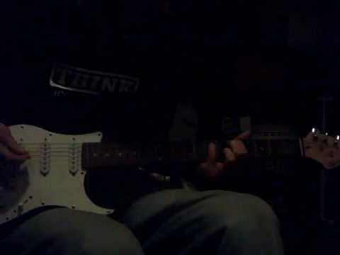 playing about with some riffs on my guitar