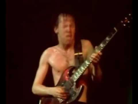 Angus Young - Best Guitarsolo ever!!! (Let there Be Rock)