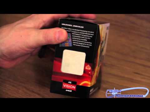 AMD A6-3670K APU 2.7GHz Socket FM1 Black Edition Unboxing and First Look