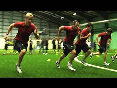 World Juniors 2011 Red vs. White: Visiting the SPARQ Training Protocol Event